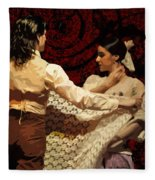 Flamenco Series No 3 Fleece Blanket
