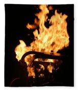 Flames Fleece Blanket