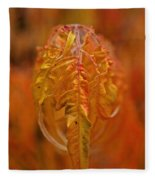 Flaming Sumac Fleece Blanket