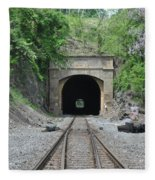 Flatrock Tunnel Fleece Blanket