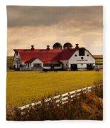 Flemingsburg Farm Ky Fleece Blanket