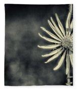 Fleur Jaune Fleece Blanket