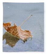 Floating Down Lifes Path 2 Fleece Blanket