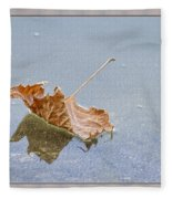 Floating Down Lifes Path Fleece Blanket