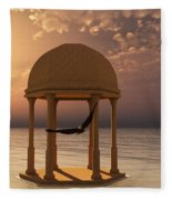 Flooded Dreams Fleece Blanket