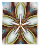 Floral Fantasy 090412 Fleece Blanket