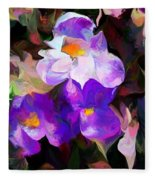 Floral Jam Fleece Blanket