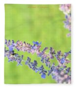Florets Fleece Blanket
