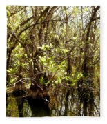 Florida Everglades 9 Fleece Blanket