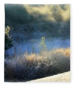 Florida Frosty Morning Fleece Blanket
