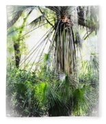 Florida Palms Fleece Blanket