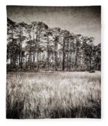 Florida Pine 2 Fleece Blanket