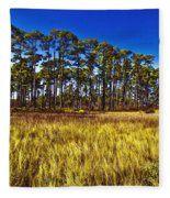 Florida Pine 3 Fleece Blanket