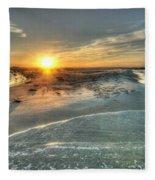 Florida Point Point Fleece Blanket