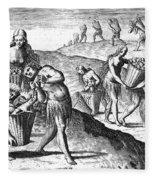 Florida: Storing Food, 1591 Fleece Blanket