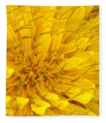 Flower - Dandelion Fleece Blanket