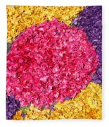 Flower Carpet Fleece Blanket