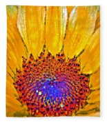 Flower Child - Flower Power Fleece Blanket