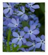 Flower Wild Blue Phlox 1 B Fleece Blanket