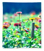 Flowers Everywhere Fleece Blanket
