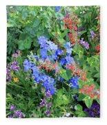 Flowers Galore Fleece Blanket