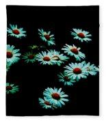 Flowers Only Fleece Blanket