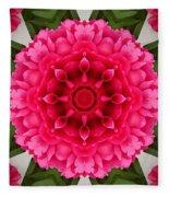 Flowery Creation Fleece Blanket