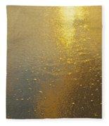 Flowing Gold 7646 Fleece Blanket