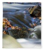 Flowing River IIi Fleece Blanket