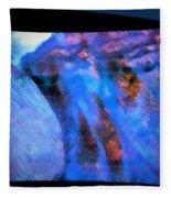 Flowing Water Fleece Blanket