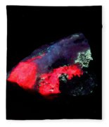 Fluorescent Illimaussaq Complex Fleece Blanket