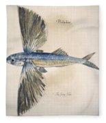Flying-fish, 1585 Fleece Blanket