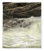 Foamy Cascade Fleece Blanket