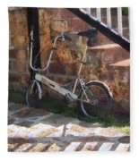 Folding Bicycle Antigua Fleece Blanket
