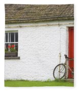 Folk Village Museum, Glencolmcille Fleece Blanket