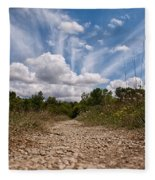 Follow The Path Fleece Blanket