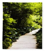 Follow Your Path Fleece Blanket