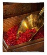 Food - Candy - Hot Cinnamon Candies  Fleece Blanket