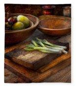 Food - Vegetable - Garden Variety Fleece Blanket