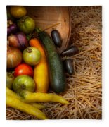 Food - Vegetables - Very Early Harvest Fleece Blanket