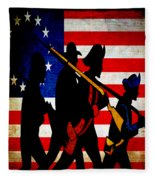 For Liberty Fleece Blanket