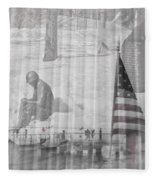 For Those Who Served Fleece Blanket