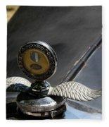 Ford A Model Hood Emblem 1931 Fleece Blanket