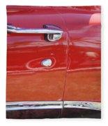 Ford Ranchero Door And Side Panel Fleece Blanket