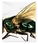 Forensic Helper, Common Green Bottle Fleece Blanket