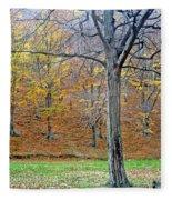 Forest - Jiu Defile Fleece Blanket