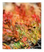 Forest Folaige Fleece Blanket
