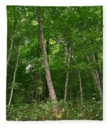Forest For The Trees Fleece Blanket