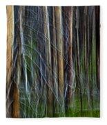 Forest Impression No.119 Fleece Blanket