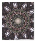Forest Mandala 1 Fleece Blanket
